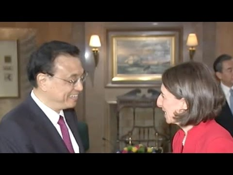 Chinese Premier Li meets Premier of New South Wales