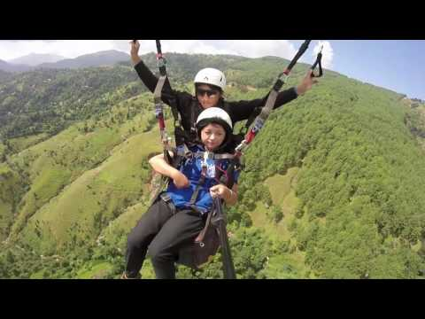 paragliding in palpa