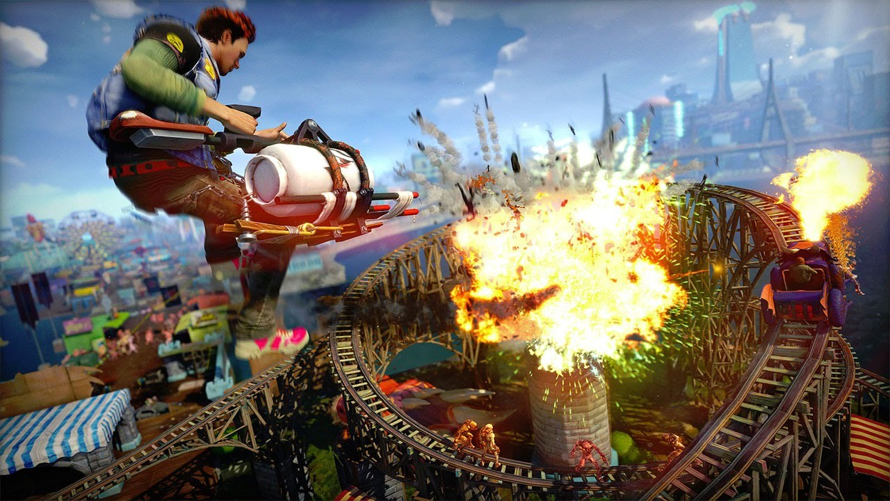 Ign Plays Sunset Overdrive Vinyl Weapons Will Never