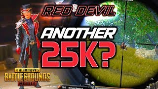 ANOTHER 25K CRATE OPENING? 🙈 RED DEVIL GAMEPLAY - PUBG Mobile