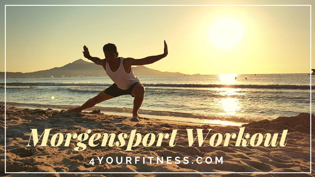 Morgensport Frühsport Workout Mit 10 übungen