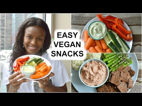 Easy Vegan Snacks for after School & Work | Raw