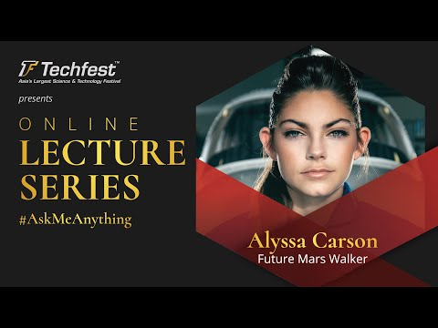 Alyssa Carson | Training to be the first human on Mars at Techfest ...