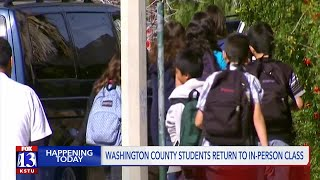 Washington Co. students returning to in-person classes