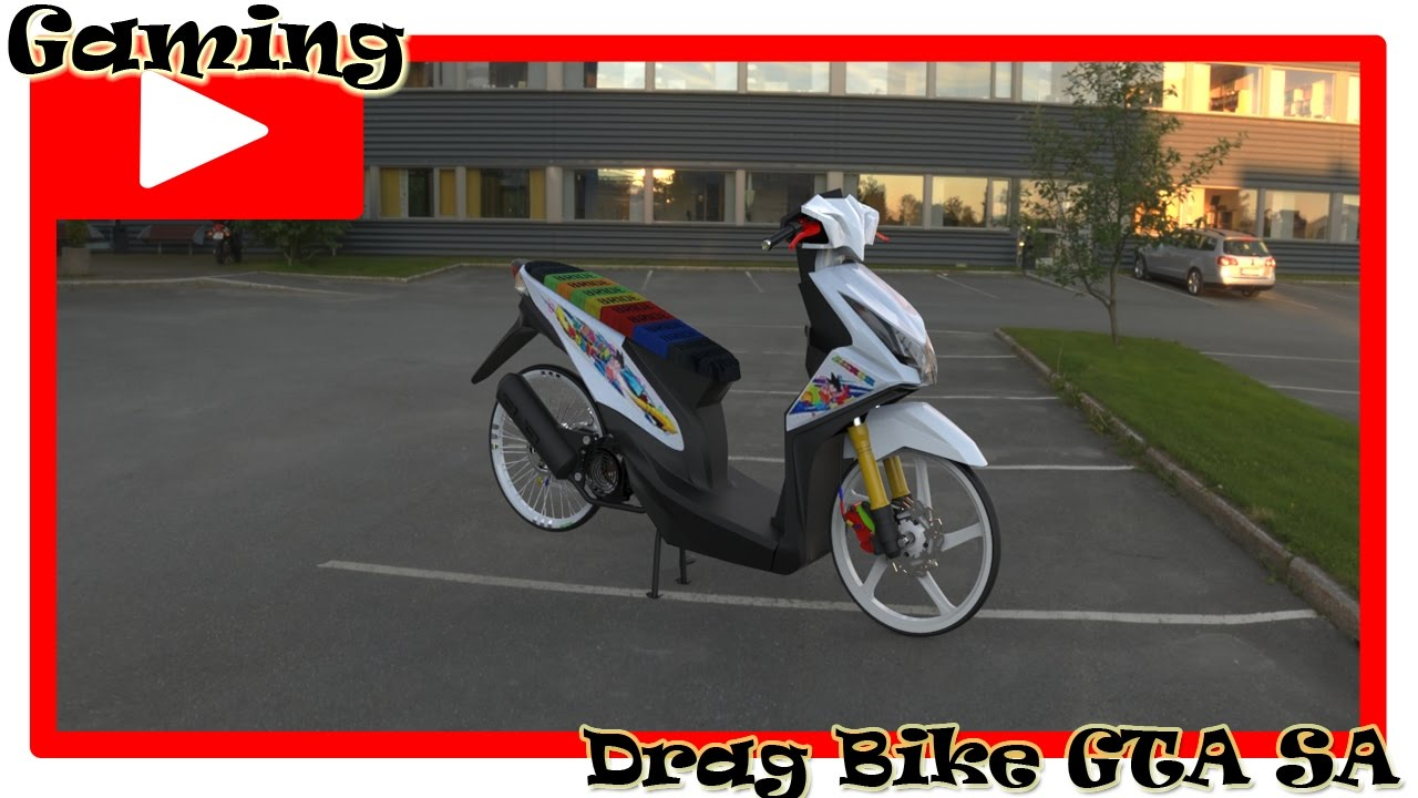 Drag Bike Gta Sa Drag Beat Fi Youtube