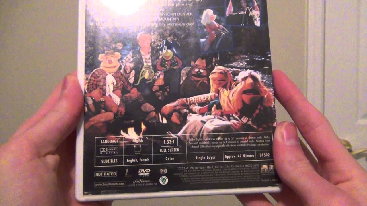 Vinyl Record Review Episode 1 - John Denver & The Muppets: Rocky ...
