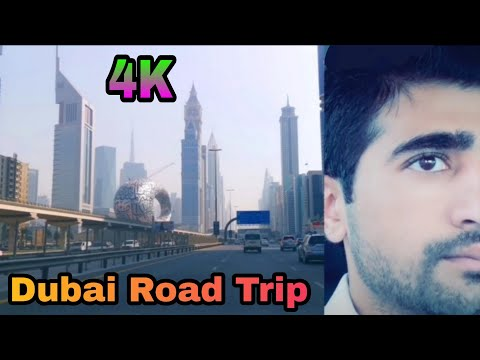 Deira Clock Tower, to Downtown Road trip,  Dubai |4K|