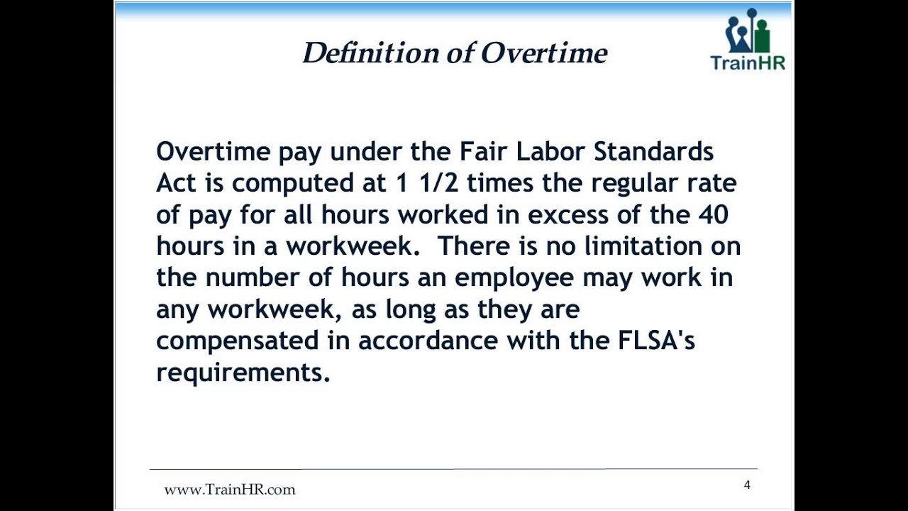 wage and hour compliance: its more than just calculating overtime