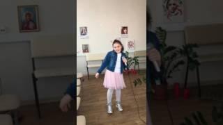 Данилова Мария!Разучиваем новую песенку!!!! Урок в MuZa Production by Valevskaya