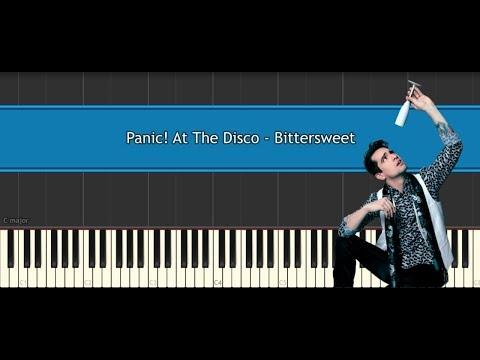 Panic! At The Disco - Bittersweet (piano tutorial)