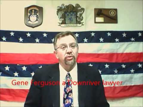 "Gene Ferguson a Downriver Michigan Attorney talks about ""The Truth"". The truth essential in an attorney client relationship you deserve it and he promises to give it. Call him at 734-775-6656. www.youtube.com/GeneForJustice"