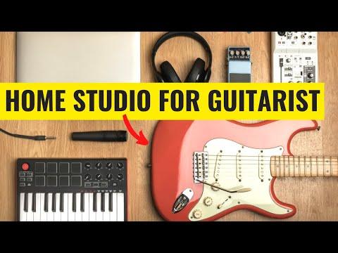 Guitarist Home Studio Setup