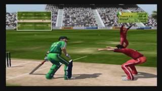 Brian Lara Cricket 2007 PS2 Gameplay