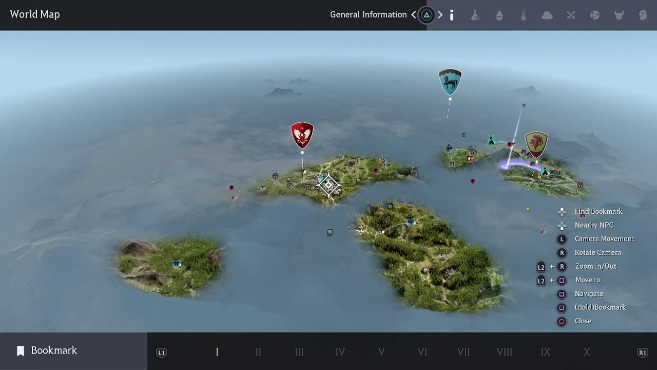 Black Desert [PS4/Xbox] Using The World Map