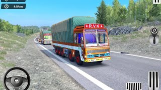 Indian Truck Offroad Cargo Drive Simulator 2 Android Gameplay #2 เกมขับรถสิบล้อ screenshot 3