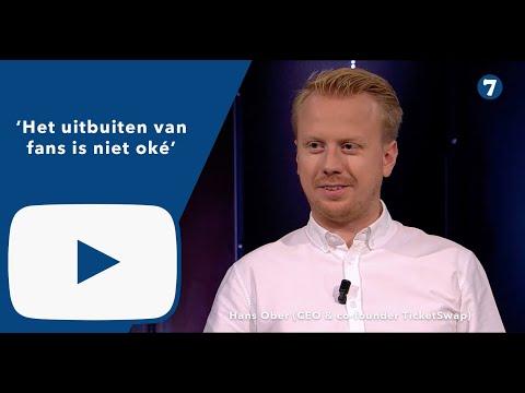 Hans Ober (CEO & co-founder TicketSwap) over het succes van TicketSwap: 'Het uitbuiten van fa…