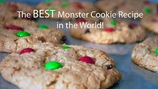 The Best Monster Cookie Recipe In The World!