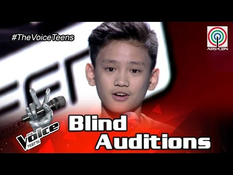 The Voice Teens Philippines Blind Audition: Johann Ramirez - Fly Me To The Moon