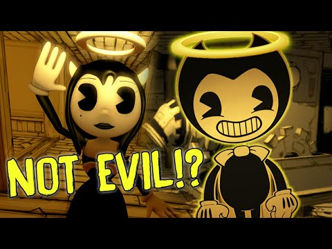 BENDY IS NOT EVIL!? | Bendy And The Ink Machine FINAL Chapter 6 Reece's Story