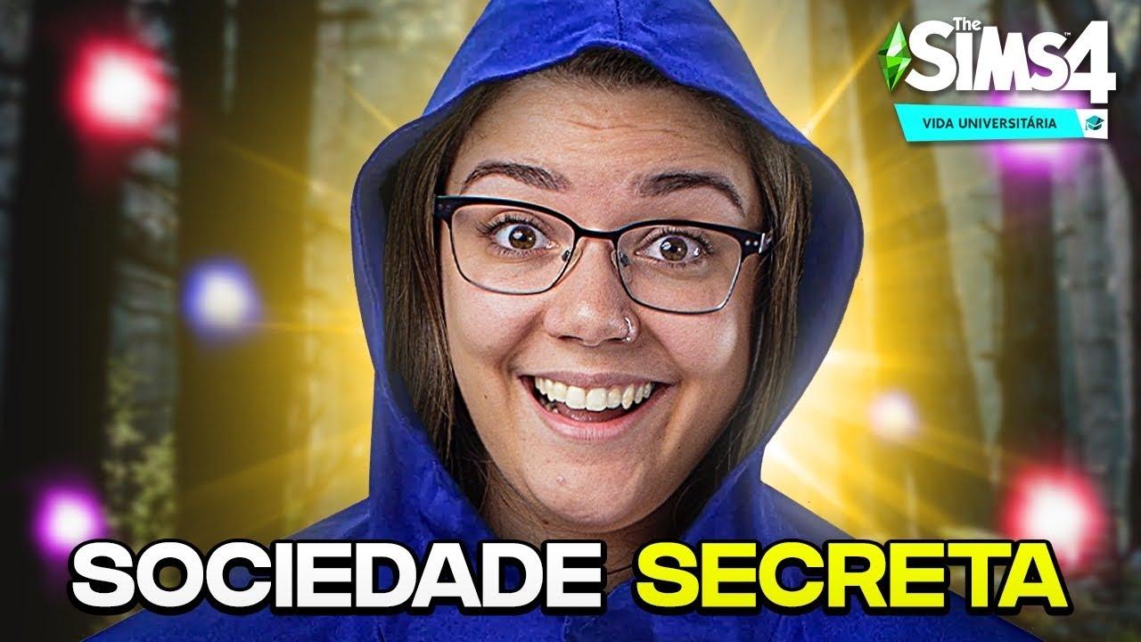 ENTREI NA SOCIEDADE SECRETA! - The Sims 4 Vida Universitária thumbnail