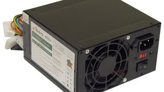 Logisys Corp. 480W 240-Pin Black Beauty ATX 20+4 Power Supply PS480D-BK Overview