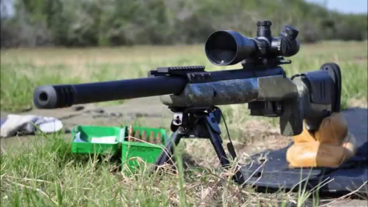 Custom Rifle Surgeon Action .308 win McMillan A5 - YouTube