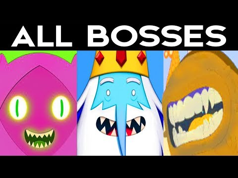 Adventure Time Pirates Of The Enchiridion - ALL BOSSES / ALL BOSS BATTLES + Ending