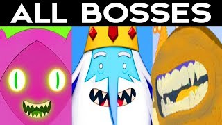 Adventure Time Pirates of the Enchiridion - ALL BOSSES / ALL...