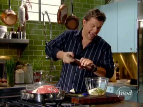 Tyler Florence's Standing Rib Roast | Food Network - YouTube
