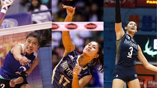 Top 10 Solid Backrow Attacks | Women | PHILIPPINES