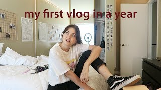 my first vlog in a year | lindseyremvlogs