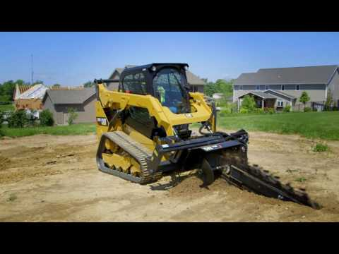 Cat® Trencher Attachment Overview