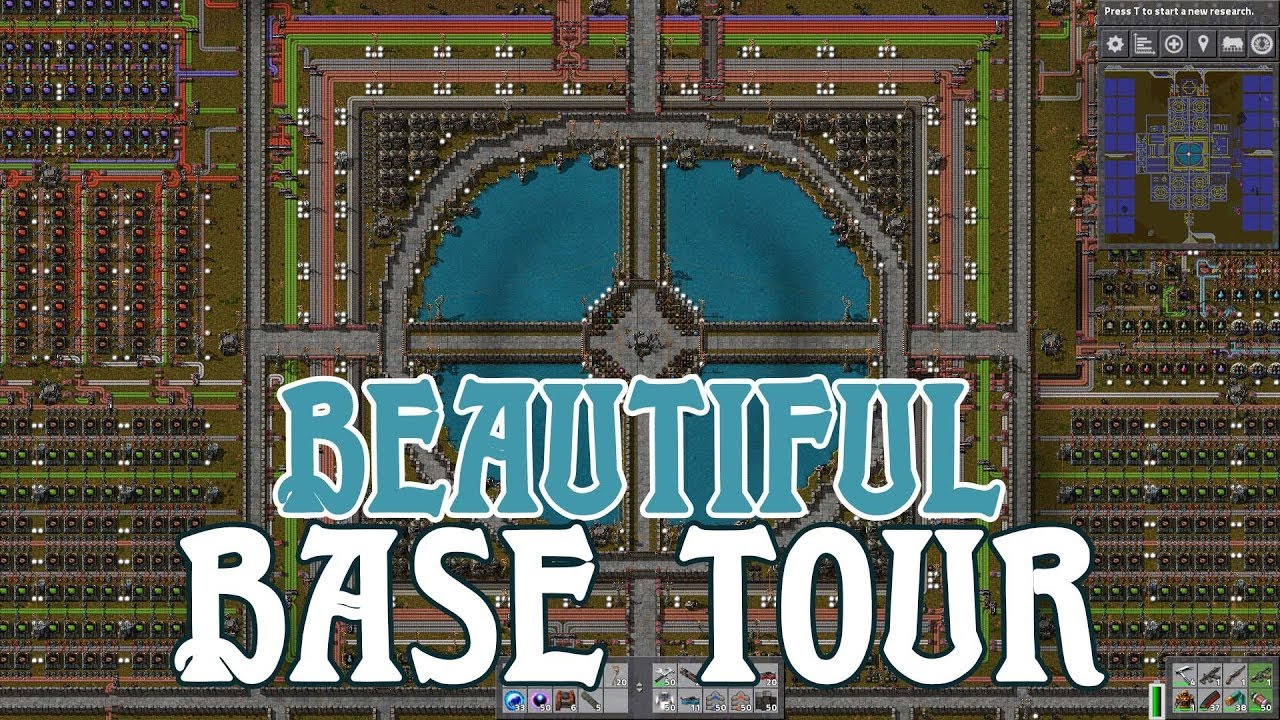 FACTORIO | Beautiful Base Tour - Soelless Gaming
