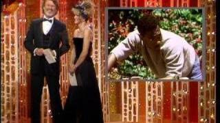 Dudley Moore Wins Best Actor Motion Picture Musical or Comedy - Golden Globes 1985