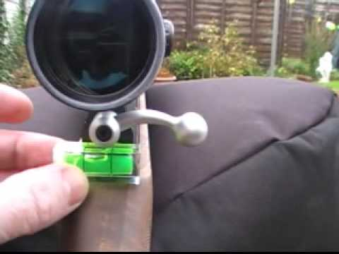 My easy way to level an air rifle scope