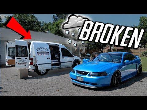 Hail BROKE My Mustang's WINDSHIELD! (My Luck...)
