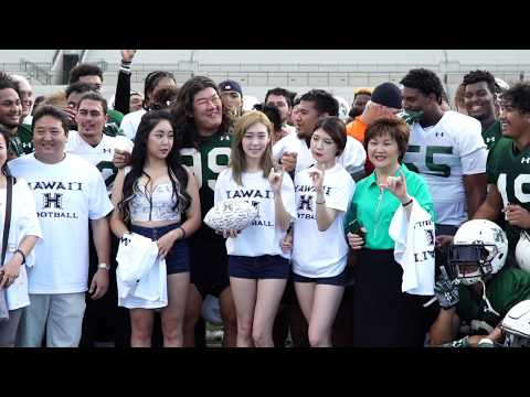 Hawaii Football K-pop Zeno Choi Scholarship Reveal