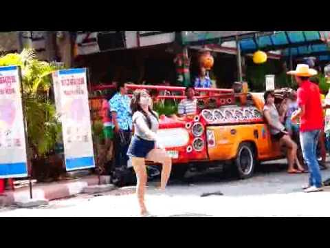 สงกรานต์โคราช 2556 Gangnam Style