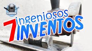 7 INVENTOS CASEROS PARA EL TALLER [ ingeniosas herramientas caseras ]