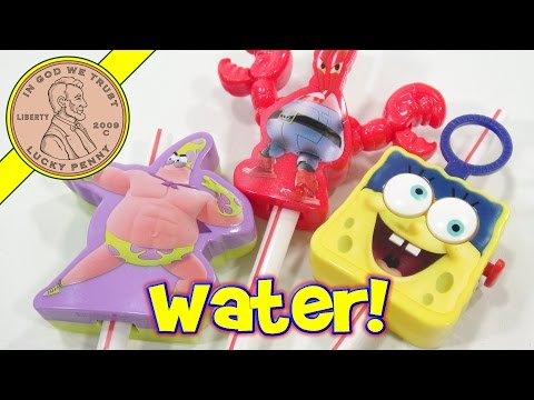 Spongebob Out Of Water McDonald's 2015 Happy Meal Toys