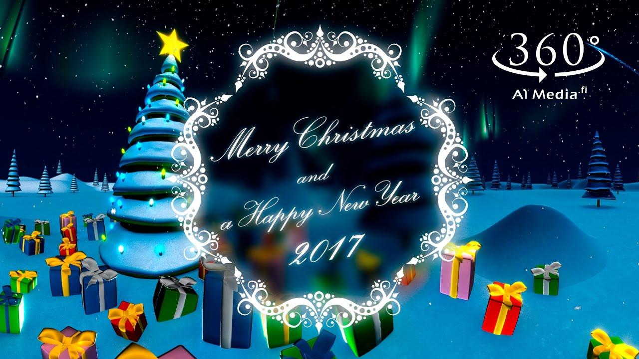 VR Christmas Card 360 - A1 Media Oy