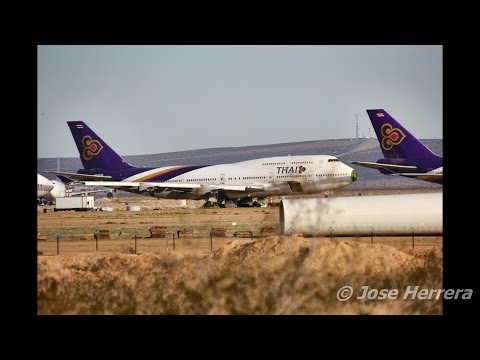 "Mojave Airport ""Airplane Graveyard"" in California Long Version 1"