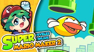 ¡Flappy Bird! - Super Mario Maker 2 (Niveles Online) DSimphony