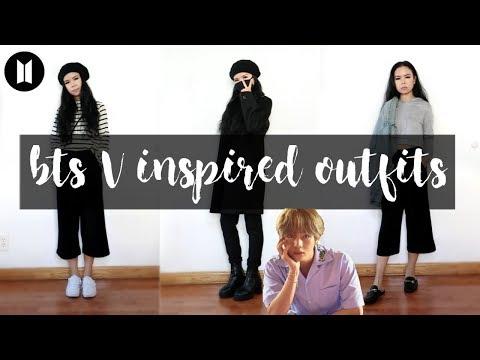 BTS (방탄소년단) INSPIRED OUTFITS PT.2 // V