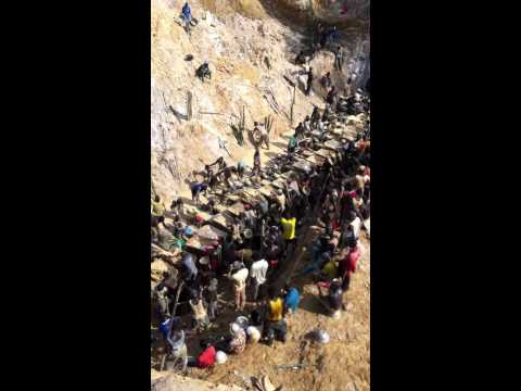 Small Scale Gold Mining in Ghana