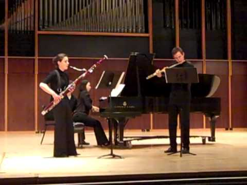 Tim Jansa: Three Miniatures for Flute, Bassoon and Piano (2009)