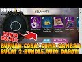 BURUAN COBA! Gambar BULAT BUNDLE Bunny Warrior & Queen AUTO DAPAT!!! - Free Fire