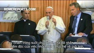 Đức Giáo Hoàng: Chúa Giêsu không bao giờ nói với bất kỳ ai 'Cút đi vì ngươi là người đồng tính!'