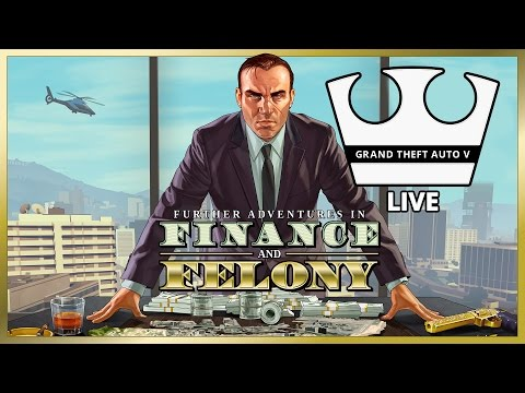 Jirka, MarweX a Baxtrix Hraje - GTA V Online - Finance and Felony [PC] [LIVE]