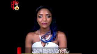 Download Video I HAVE NEVER THOUGHT ABOUT DATING FALZ - SIMI (Nigerian Entertainment News) MP3 3GP MP4